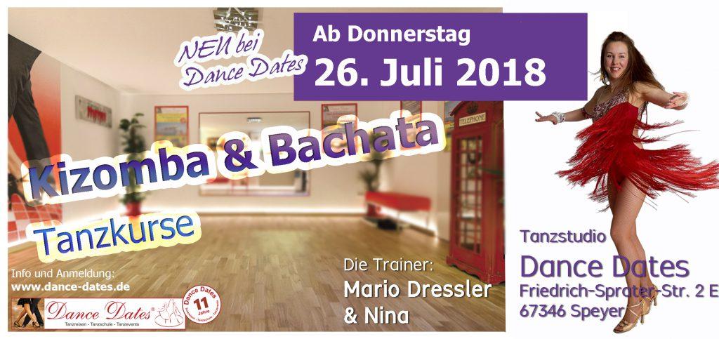 START: Kizomba & Bachata Tanzkurse in Speyer @ Tanzstudio Dance Dates | Speyer | Rheinland-Pfalz | Deutschland