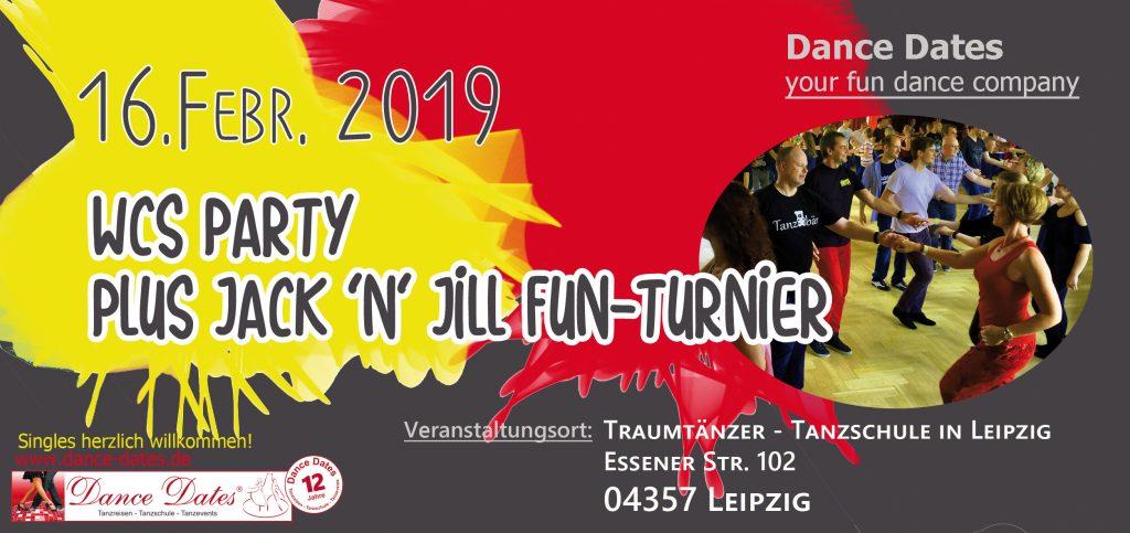 WCS Party & Jack ´n´ Jill Fun Turnier in Leipzig @ Traumtänzer - Tanzschule in Leipzig | Leipzig | Sachsen | Deutschland