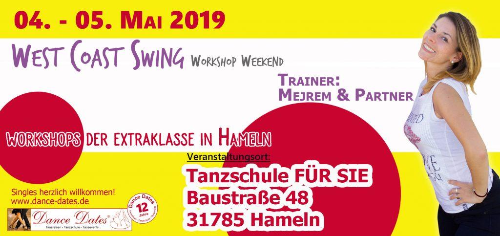 WCS Workshop & Party Weekend in Hameln @ Tanzschule FÜR SIE | Hameln | Niedersachsen | Deutschland