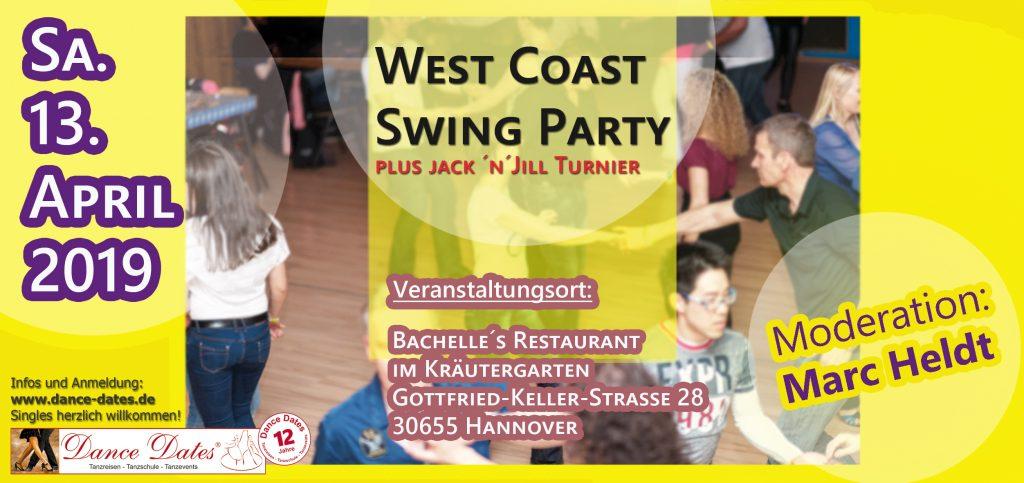 WCS Party & Jack ´n´ Jill Fun Turnier in Hannover @ Bachelle's Restaurant im Kräutergarten   Hannover   Niedersachsen   Deutschland