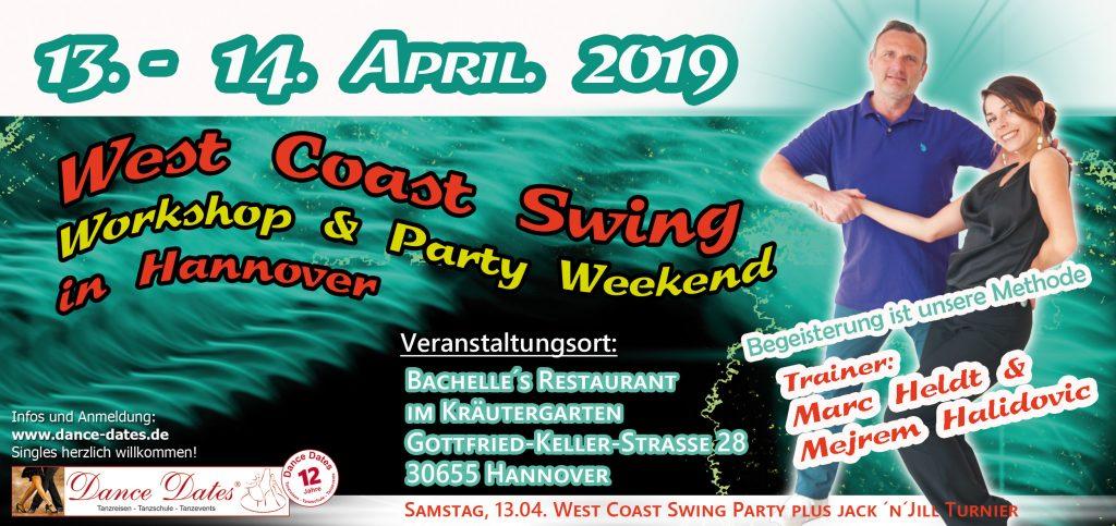 WCS Workshop & Party Weekend in Hannover @ Bachelle's Restaurant im Kräutergarten | Hannover | Niedersachsen | Deutschland