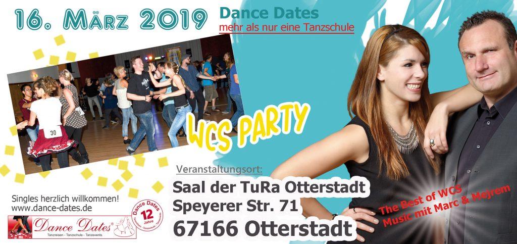 Die grosse WCS Party in O-Town / Speyer @ TURA Otterstadt   Otterstadt   Rheinland-Pfalz   Deutschland