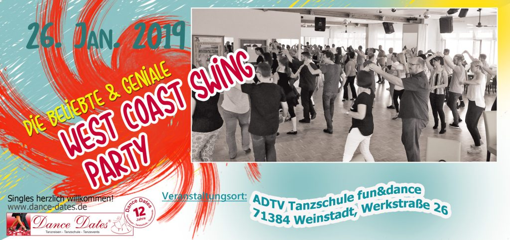 Die grosse WCS Party in Weinstadt @ ADTV Tanzschule fun&dance | Weinstadt | Baden-Württemberg | Deutschland