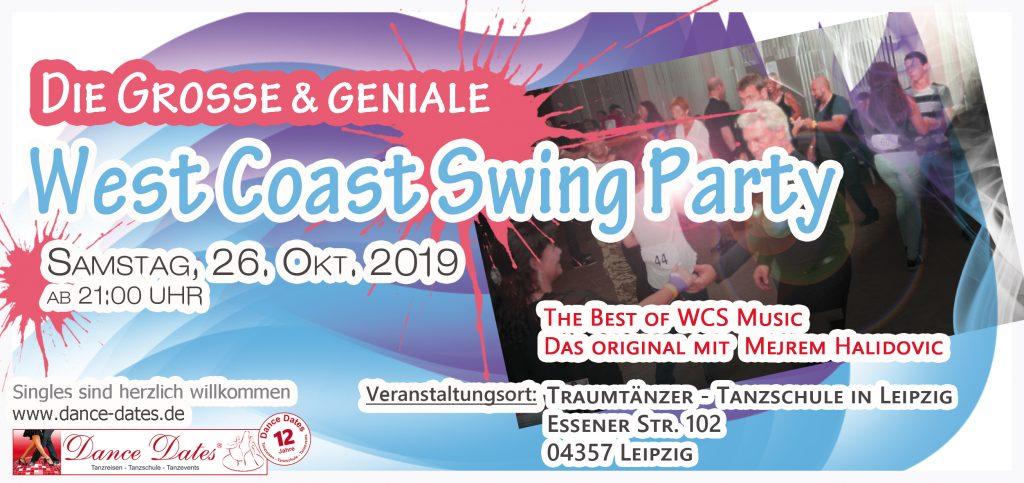 Die grosse WCS Party in Leipzig @ Traumtänzer - Tanzschule in Leipzig | Leipzig | Sachsen | Deutschland