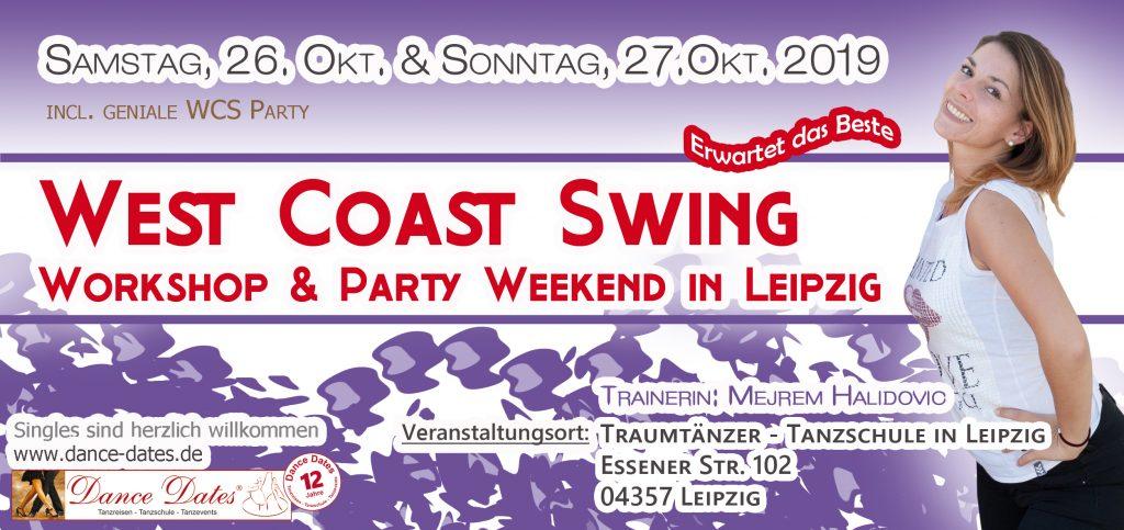 WCS Workshop & Party Weekend in Leipzig @ Traumtänzer - Tanzschule in Leipzig | Leipzig | Sachsen | Deutschland