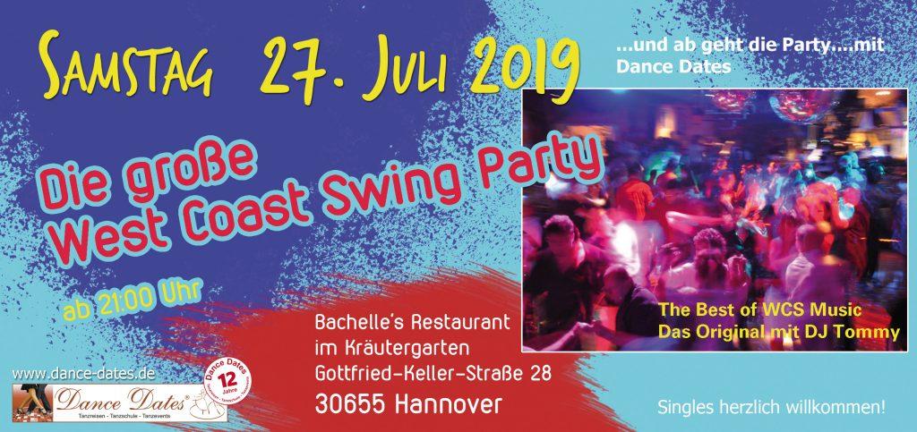 Die grosse WCS Party in Hannover @ Bachelle's Restaurant im Kräutergarten | Hannover | Niedersachsen | Deutschland