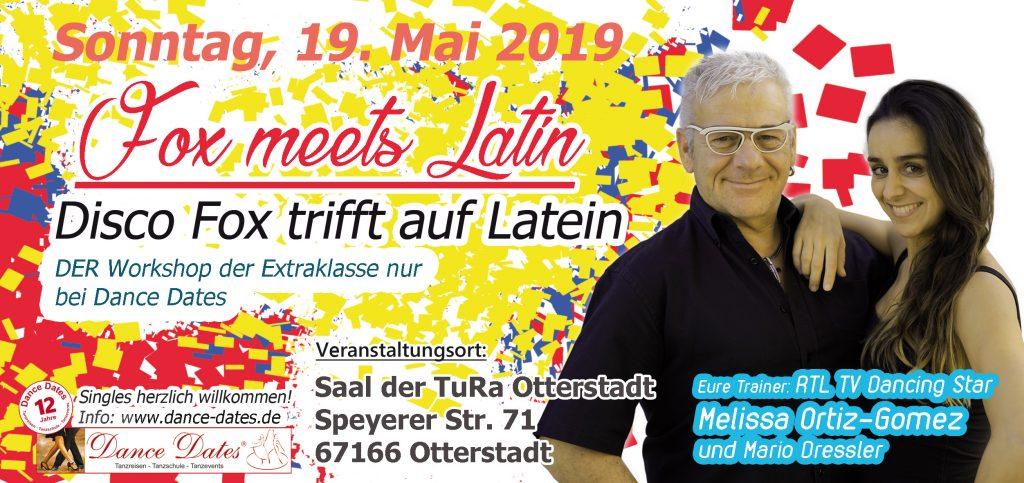 Latin Fox Workshop in Otterstadt @ TURA Otterstadt | Otterstadt | Rheinland-Pfalz | Deutschland