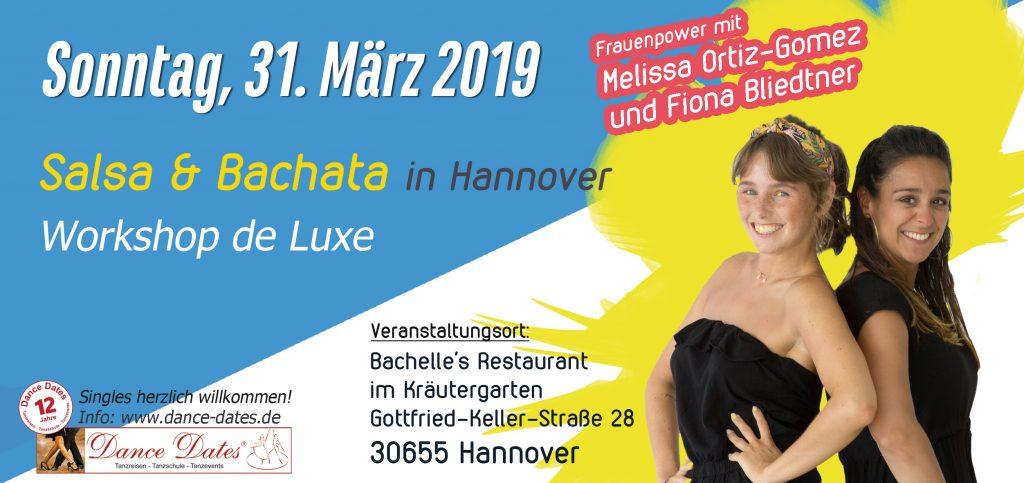 Salsa & Bachata Workshop Hannover mit Melissa Ortiz Gomez @ Bachelle's Restaurant im Kräutergarten | Hannover | Niedersachsen | Deutschland