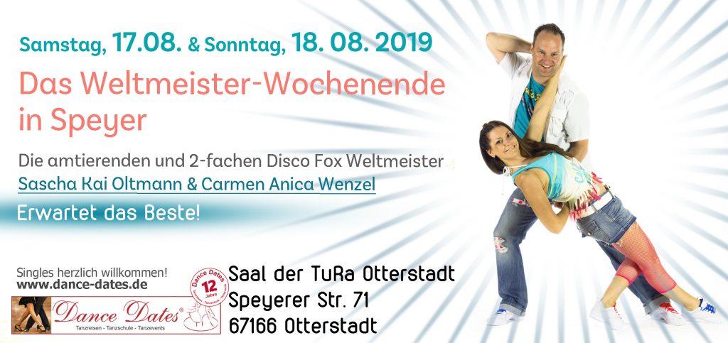 DAS Weltmeister Wochenende in Speyer @ Saal der TuRa Otterstadt | Otterstadt | Rheinland-Pfalz | Deutschland