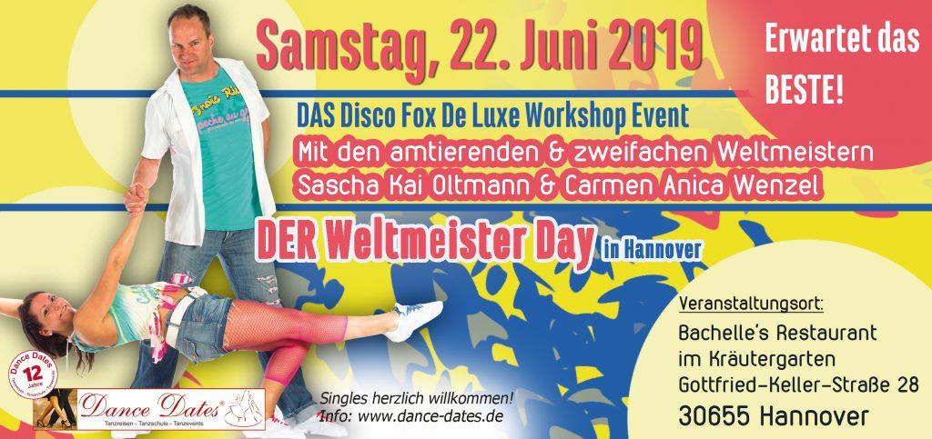 DER Weltmeister Day in Hannover @ Bachelle´s Restaurant im Kräutergarten | Hannover | Niedersachsen | Deutschland