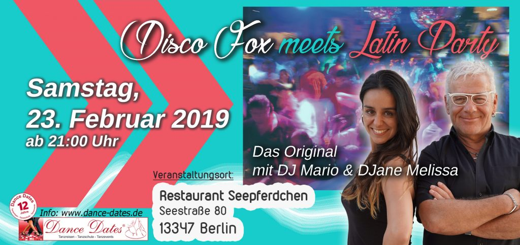 Die grosse Best of Disco Fox meets Latin Party @ Restaurant Seepferdchen | Berlin | Berlin | Deutschland
