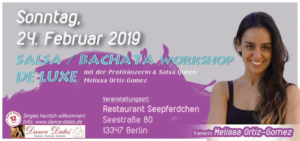 Salsa & Bachata Workshop de Luxe Berlin @ Restaurant Seepferdchen | Berlin | Berlin | Deutschland