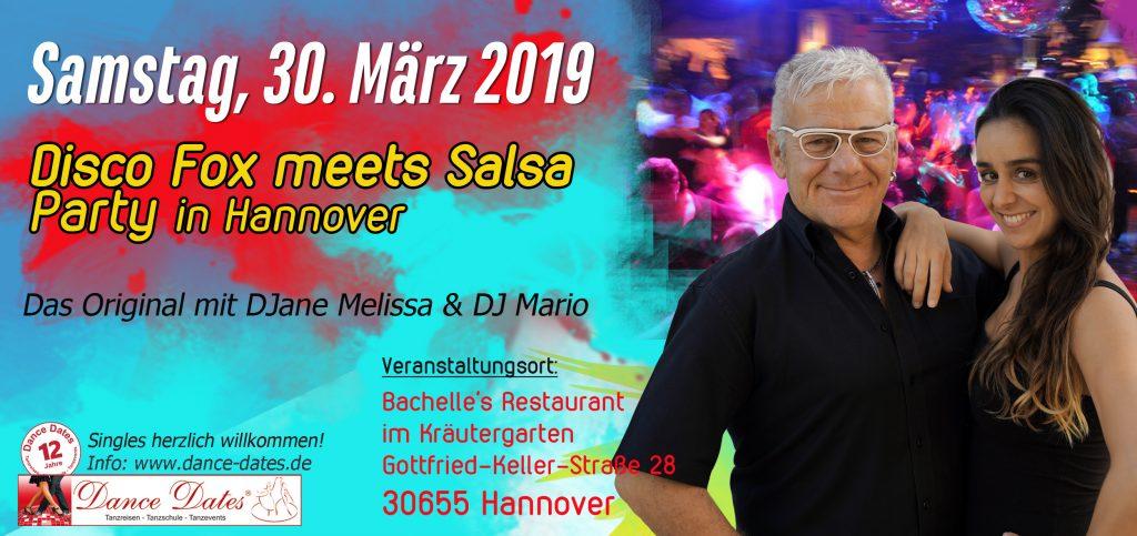 Die grosse Best of Disco Fox & Salsa Party @ Bachelle´s Restaurant im Kräutergarten   Hannover   Niedersachsen   Deutschland