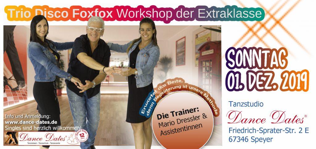 Trio Disco Fox Workshops der Extraklasse in Speyer @ Tanzstudio Dance Dates | Speyer | Rheinland-Pfalz | Deutschland