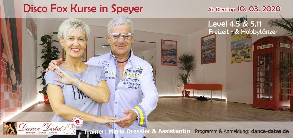 LAUFENDER KURS: Disco Fox Kurse in Speyer @ Tanzstudio Dance Dates | Speyer | Rheinland-Pfalz | Deutschland