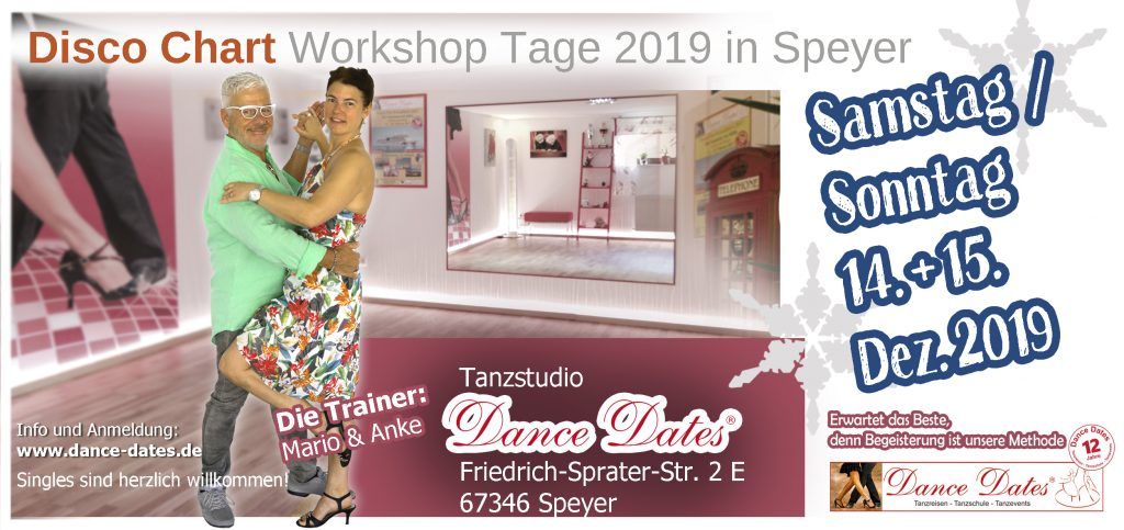 Disco Chart Workshop Weekend 2019 in Speyer @ Tanzstudio Dance Dates | Speyer | Rheinland-Pfalz | Deutschland