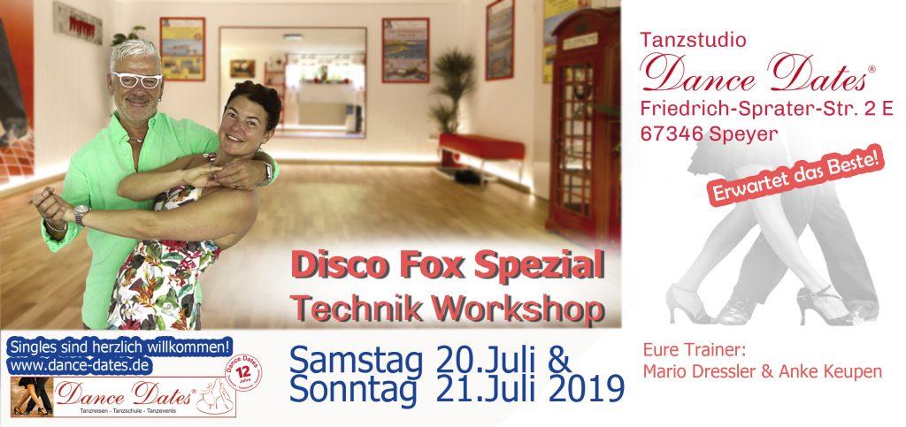 Disco Fox Spezial Technik Workshop Weekend in Speyer @ Tanzstudio Dance Dates | Speyer | Rheinland-Pfalz | Deutschland
