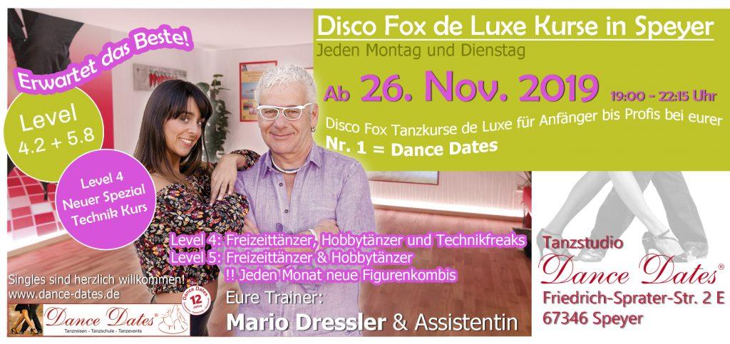 START: Exklusive Disco Fox Kurse in Speyer @ Tanzstudio Dance Dates | Speyer | Rheinland-Pfalz | Deutschland