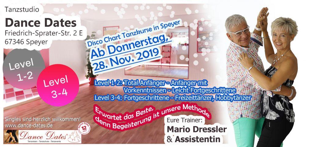 LAUFENDER KURS: Exklusive Disco Fox Kurse in Speyer @ Tanzstudio Dance Dates | Speyer | Rheinland-Pfalz | Deutschland