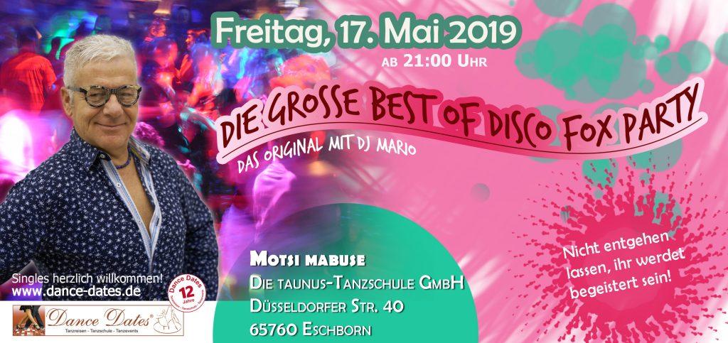 Best of Disco Fox Party @ Motsi Mabuse - Die Taunus-Tanzschule GmbH | Eschborn | Hessen | Deutschland