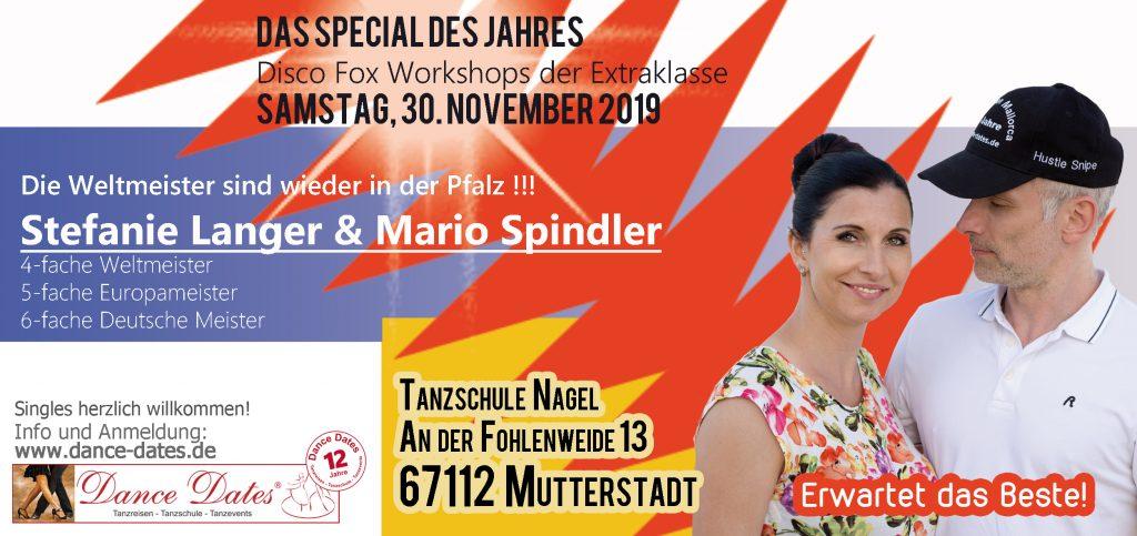 Disco Fox Workshops der Extraklasse @ Tanzschule Nagel | Mutterstadt | Rheinland-Pfalz | Deutschland