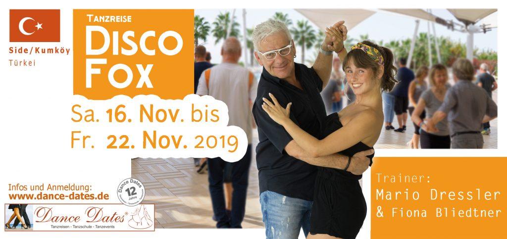 Disco Fox Tanzreise Türkei 2019