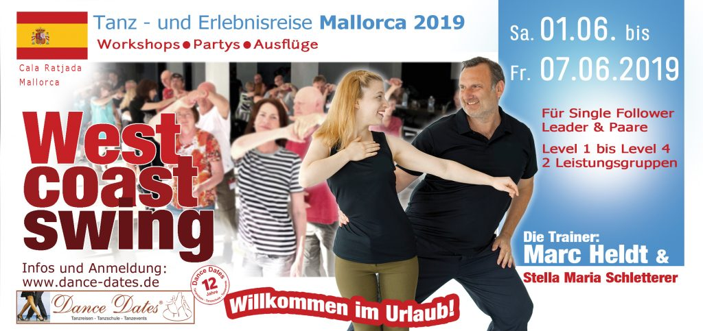 West Coast Swing Tanzreise Mallorca 2019