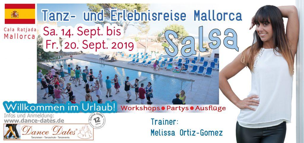 Salsa Tanzreise Mallorca 2019