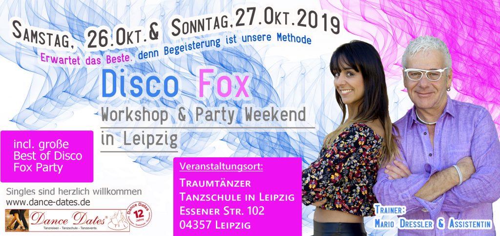 Disco Fox Workshop & Party Weekend in Leipzig @ Traumtänzer - Tanzschule in Leipzig