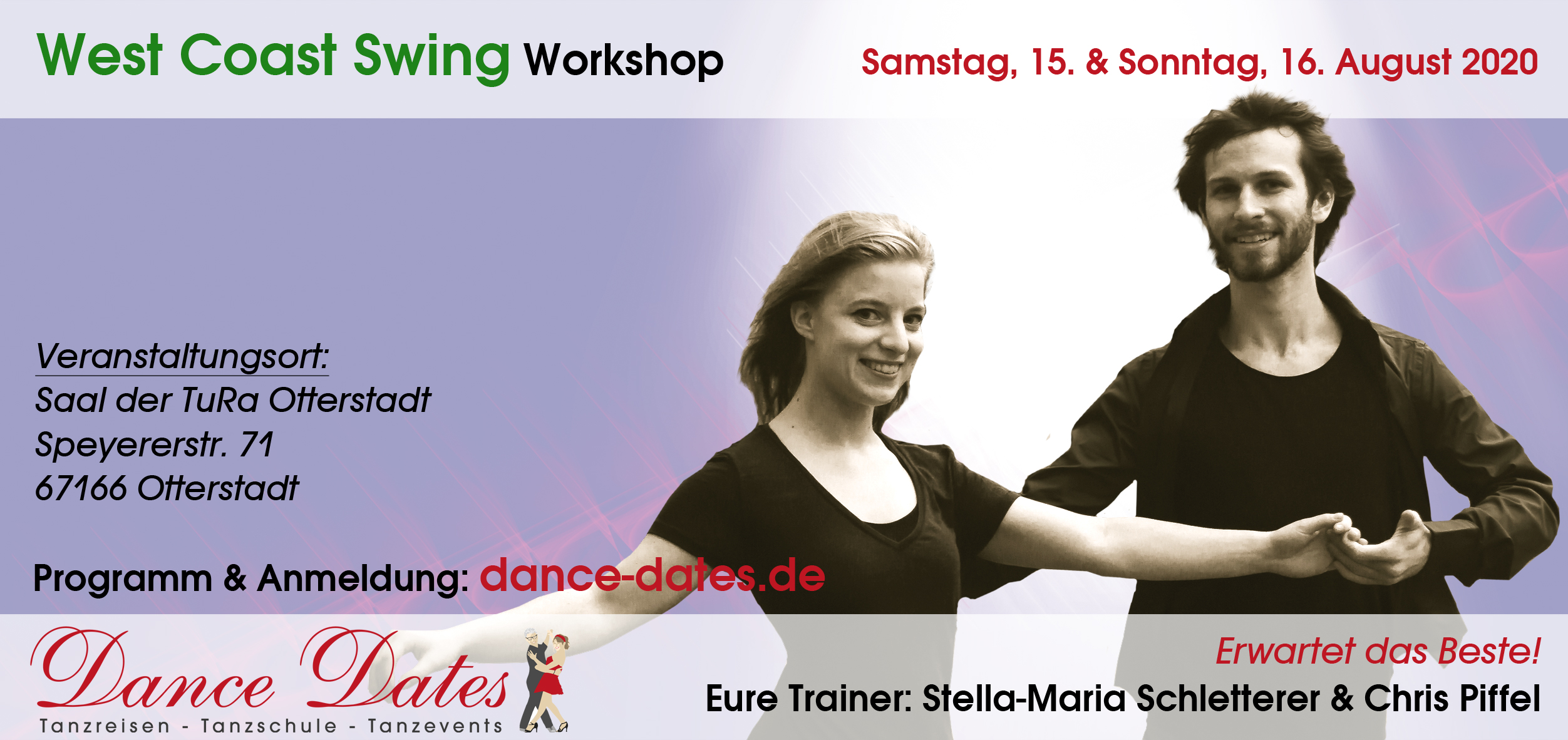West Coast Swing Workshop & Party Weekend / Otterstadt / Speyer @ Saal der TuRa Otterstadt