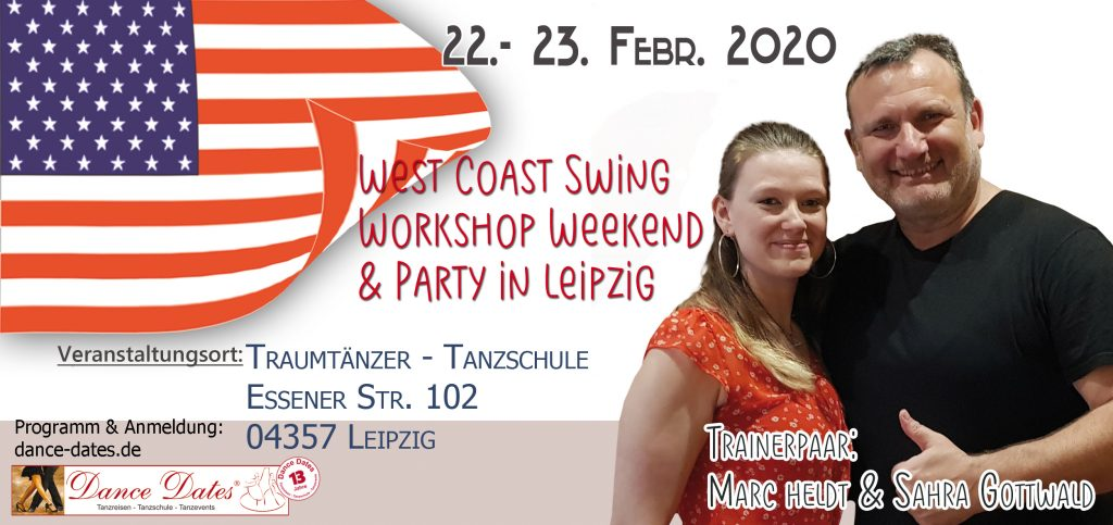 West Coast Swing Workshop & Party Weekend / Leipzig