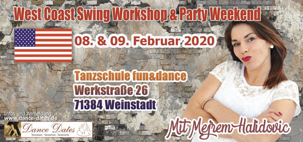 West Coast Swing Workshop & Party Weekend / Weinstadt @ Tanzschule Fun & Dance