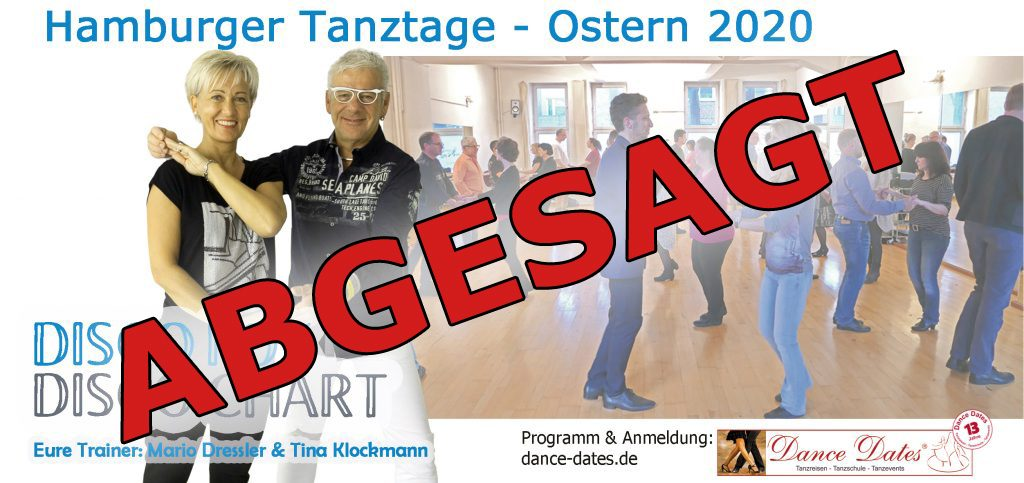 "<span style=""color: red;"">ABGESAGT!</span> Disco Fox & Disco Chart Workshop Tage / Hamburg @ Tanzstudio Dance & Move"