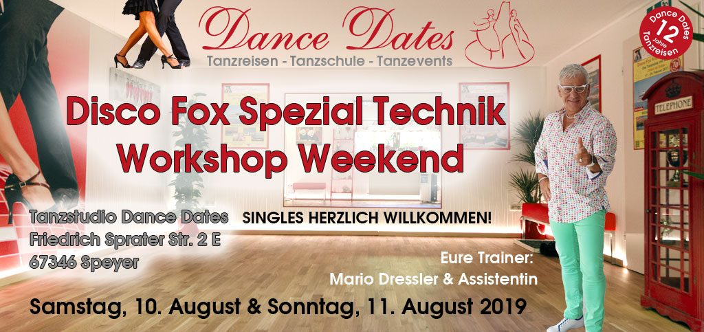 Disco Fox Spezial Technik Workshop Weekend in Speyer @ Tanzstudio Dance Dtes