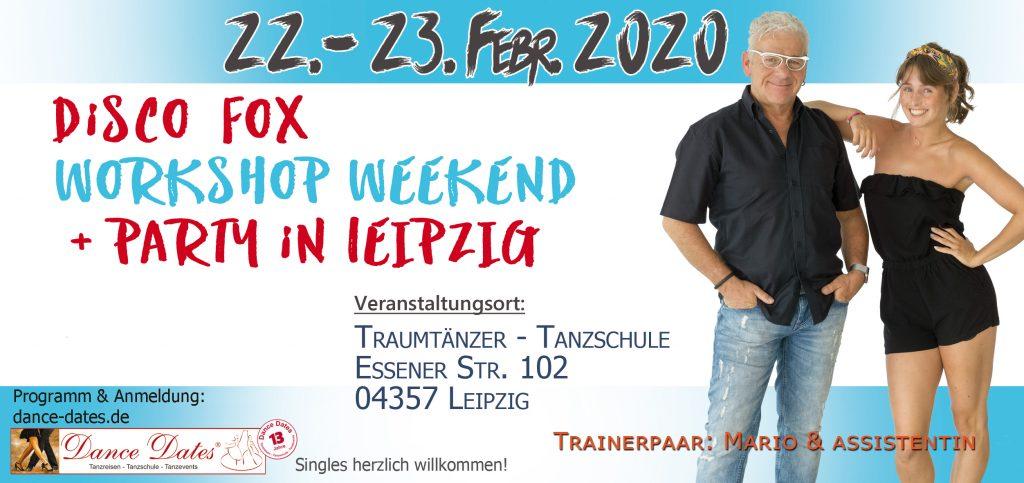 Disco Fox Workshop & Party Weekend / Leipzig