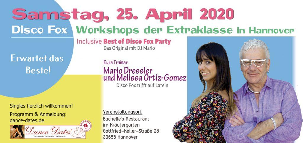 Disco Fox Workshops der Extraklasse Hannover