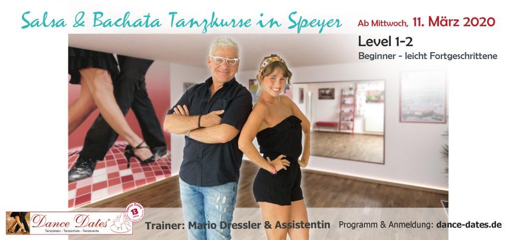 LAUFENDER KURS: Salsa & Bachata Tanzkurse für Beginner & leicht Fortgeschrittene in Speyer