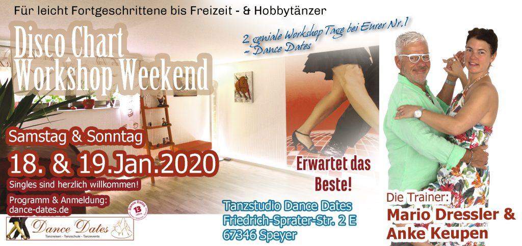 Disco Chart Workshop Weekend 2020 in Speyer