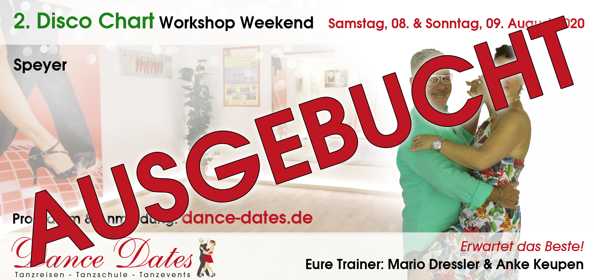 Zweites Disco Chart Workshop Weekend 2020 in Speyer