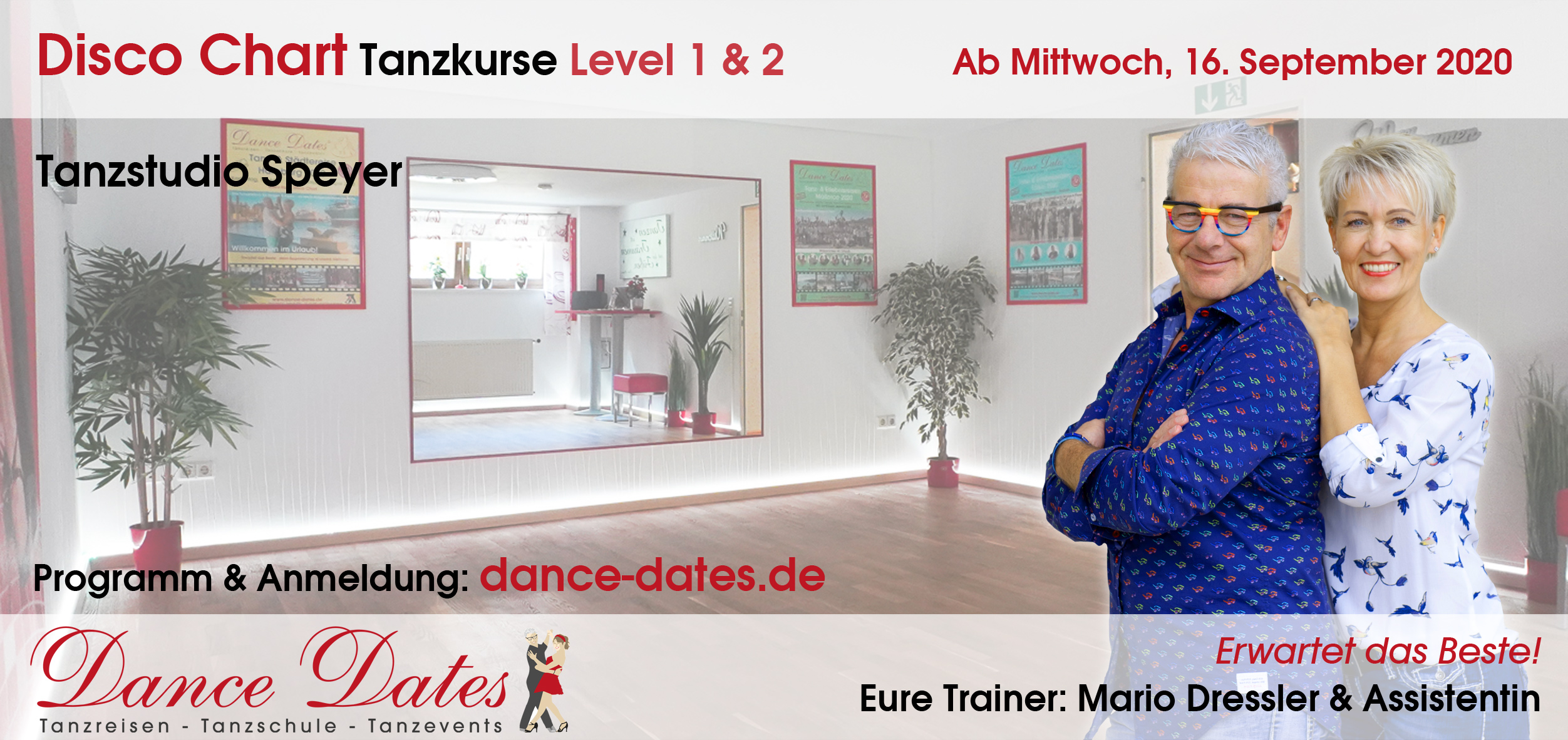 LAUFENDER KURS: Disco Chart Tanzkurse in Speyer