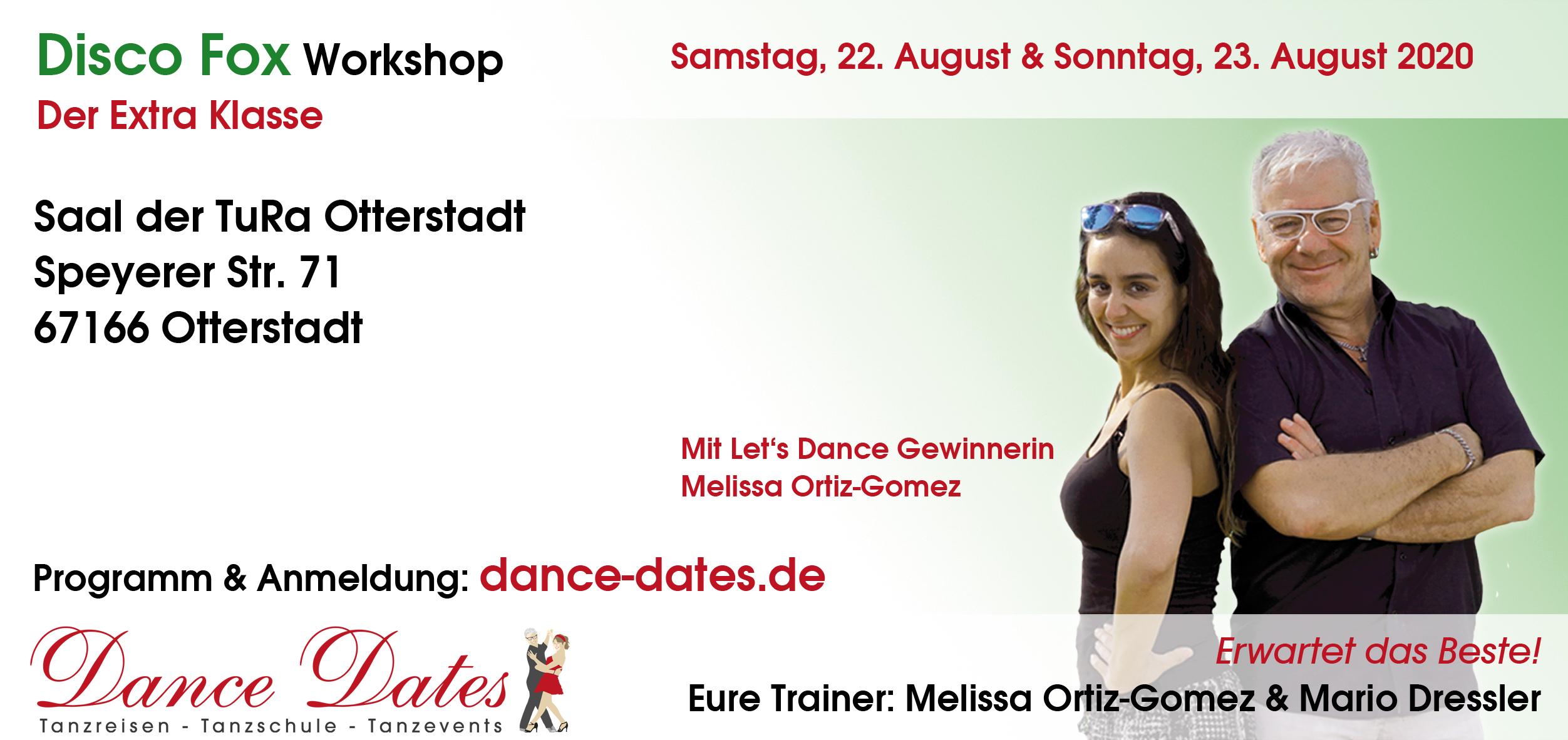 Disco Fox Workshops der Extraklasse Otterstadt / Speyer
