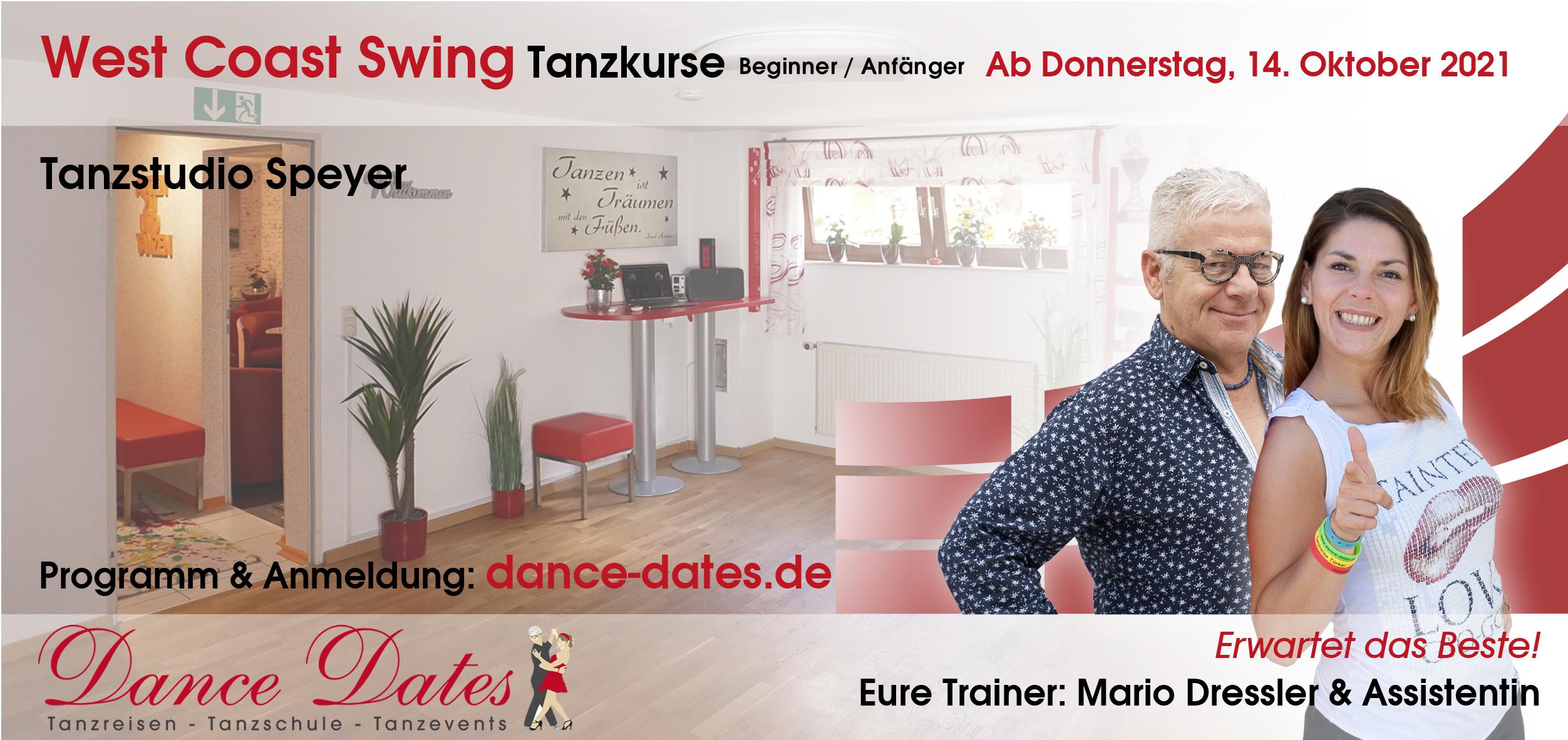 START: West Coast Swing Tanzkurse für Beginner & Anfänger