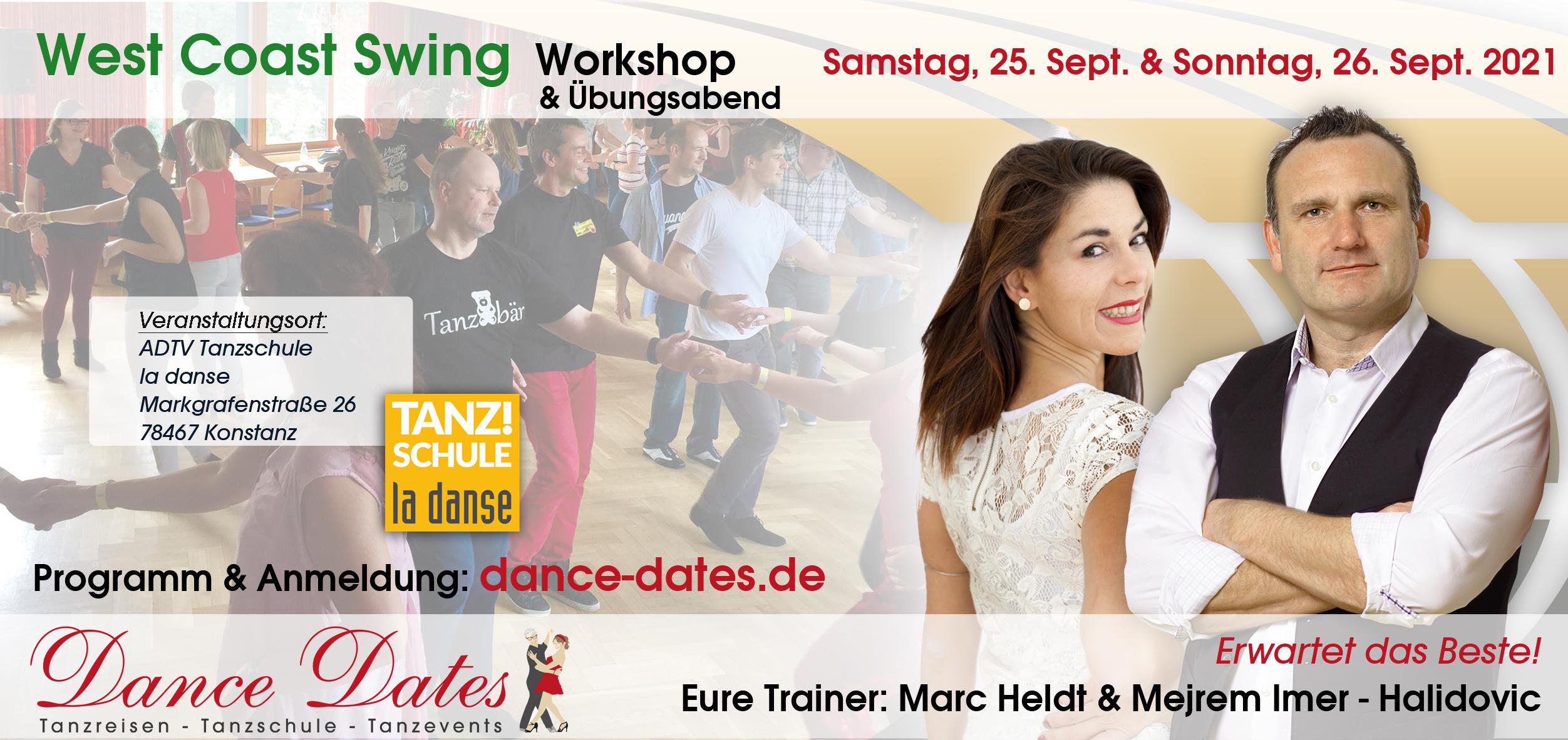 West Coast Swing Workshop-Weekend Konstanz