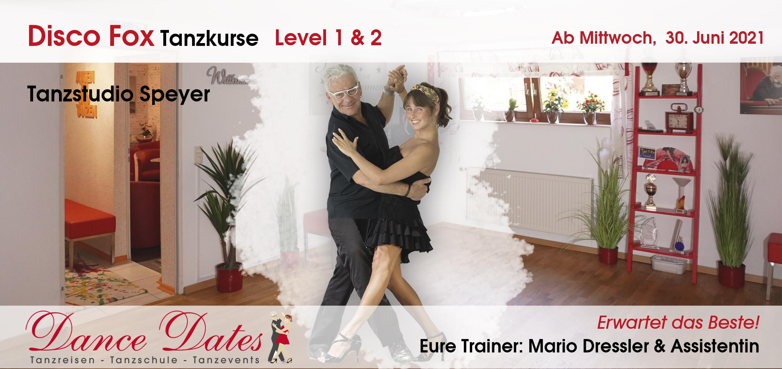 START: Disco-Fox-Tanzkurse in der Tanzschule Speyer
