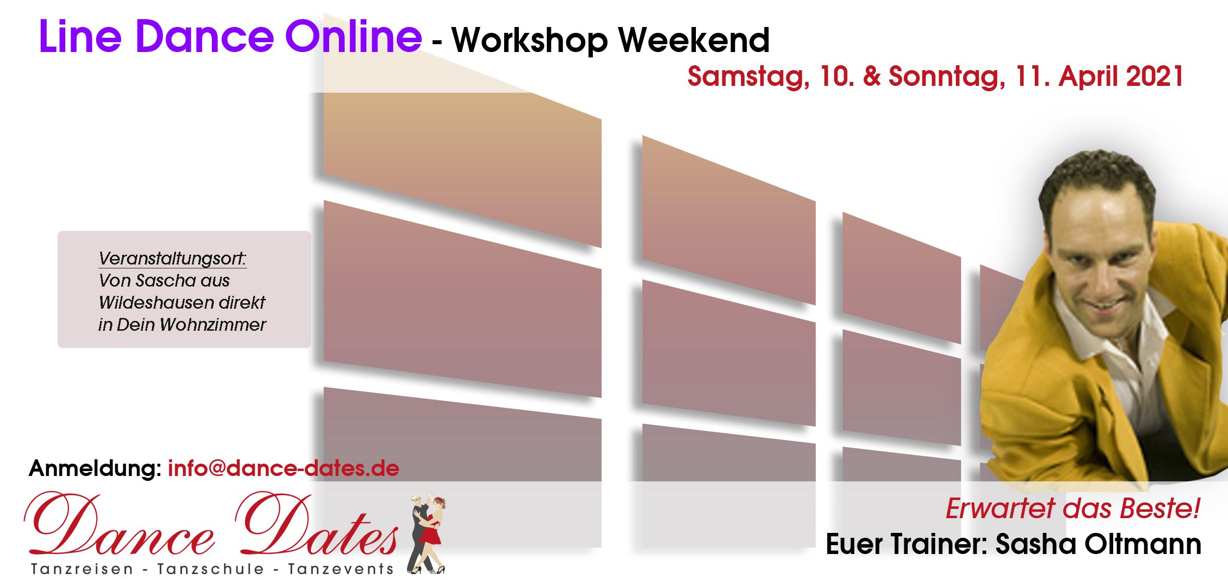 LineDance Online Workshop Weekend