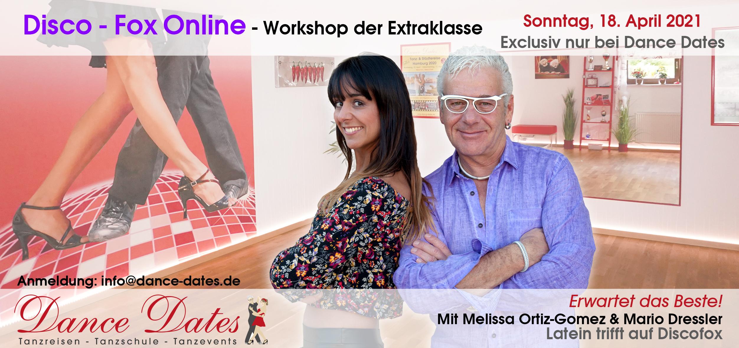 Disco-Fox-Workshop der Extraklasse – zum ersten Mal Online