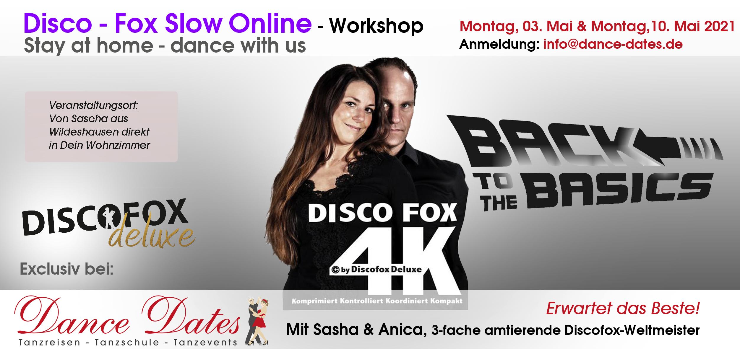 Discofox Deluxe Online-Tanzkurse - Back to the Basics