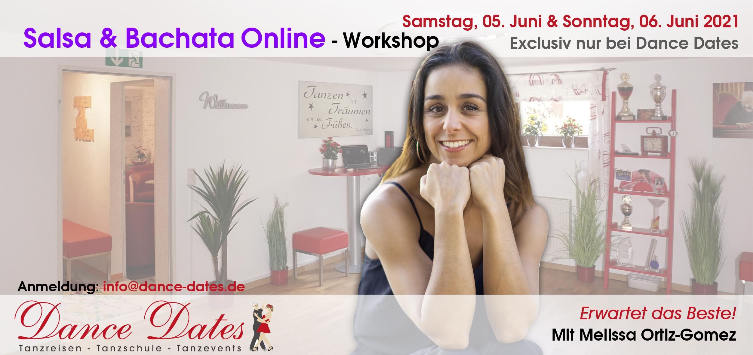 Salsa & Bachata Online-Workshop-Wochenende